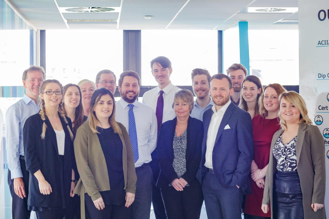 Hayes Parsons Insurance Brokers Team Photo